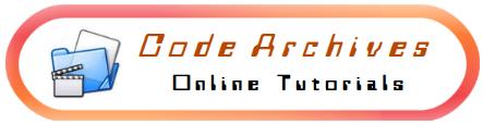 Code Archives - Online Tutorials